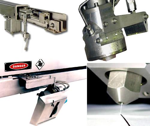 Paprima líder fabricante de sistemas de corte a base de chorro de agua a presión